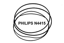 COURROIES SET PHILIPS N4415 MAGNETOPHONE A BANDE EXTRA FORT NEUF FABRIQUE N 4415