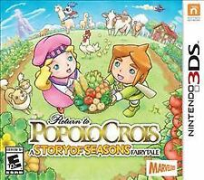 Return to PoPoLoCrois: A Story of Seasons Fairytale (3DS) *** BRAND NEW ***