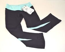 Pearl Izumi Women's Fly 3/4 Tight: Black Auruba Blue Size Small NWT