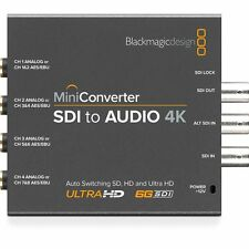 Blackmagic Design Mini Converter SDI to Audio 4K