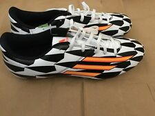 ADIDAS MENS F5 FG football boots moulded studs size 9.5