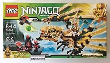 Lego Ninjago 70503 The Golden Dragon New In Factory Sealed Box