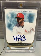 ALBERT PUJOLS  2011 Topps Tier One  cert AUTOGRAPH  BOLD ON CARD AUTO   #32/99