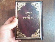 Siddur Book Hebrew & French, Livre De Prières Francais Prière Juif Siddour