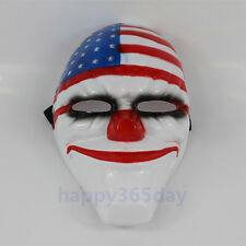 Fashion Game Payday 2 Dallas Mask Halloween Cosplay Prop party Adults Toy