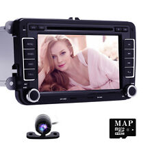 Radio Stereo Multimedia Car DVD Player GPS Navigation for VolksWagen VW EOS SEAT