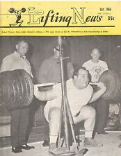 IronMan Lifting News Weightlifting Magazine/George Weaver 790 pound squat 10-66
