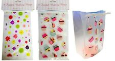 Cellophane Party Bags Cupcake Sweets Packaging Wedding Favours Gesture Gift Bag