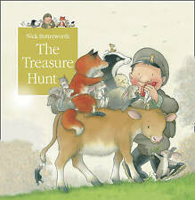 Percy the Park Keeper Story Book: THE TREASURE HUNT - Tales From Percy's Park