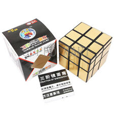 Shengshou Mirror Twist Cube Golden 3x3x3 Speed Magic Puzzle Toys ULTRA-SMOOTH