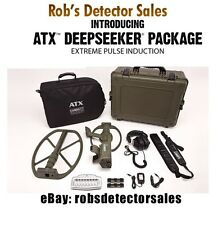 Garrett Waterproof ATX Metal Detector Deepseeker Package - Includes 20-inch coil