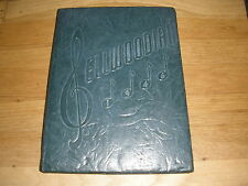 1946 Lincoln High School ellwood city pa YEARBOOK