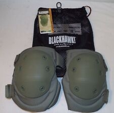 BLACKHAWK TACTICAL V.2 COMBAT KNEE PADS - Foliage green , British Army NEW