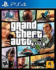 Grand Theft Auto V 5 PlayStation 4 PS4 Games Brand New Video Game Sealed