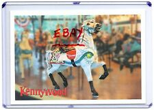 KENNYWOOD PARK-GRAND CAROUSEL HORSE-PITTSBURGH,PA 2000