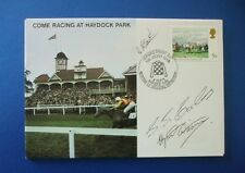 1979 VERNONS SPRINT CUP COVER SIGNED BY STEVE SMITH ECCLES AND HYWEL DAVIES