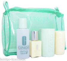 CLINIQUE Clarifying Lotion 60ml Different Moisturizing Lotion 30ml Facial Soap