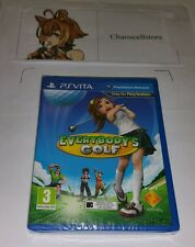 Everybody's Golf PSV New Sealed UK PAL Game Sony PlayStation Vita PS Vita