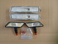 PAIR OF CLEAR INDICATORS AND SIDE REPEATERS FOR BMW Z3 NICE GIFT