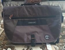 """NWT Timberland 17"""" Messenger Bag Laptop Cocoa  $220.00 great gift"""