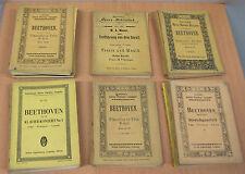 Eulenburg's Partitur-Ausgaben, 76 Hefte, Beethoven, Mozart, Haydn u.andere