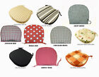 DINING CHAIR SEAT PADS CUSHIONS PATIO GARDEN CONSERVATORY KITCHEN - TIE ON