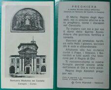 a# SANTINO SANTUARIO MADONNA DEL CASTELLO CARAGLIO CUNEO,1983 C.ALIPRANDI 11.5x7