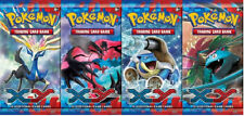 POKEMON XY 4 X SEALED BOOSTER PACKS - XY BASE SET - 10 CARDS PER PACK - XY1