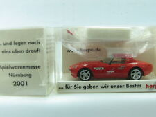 "HERPA h0 1:87 BMW z8 roadster ""HERPA jouets messe 2001"" (ml2654)"