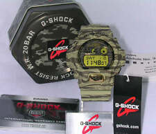 Casio G Shock watch Military Mens Green Camo GDX6900TC 5 200M water Resistant