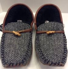 Bedroom Athletics Harris Tweed Harry Herringbone Shearling Moc Men 12 13 NIB New