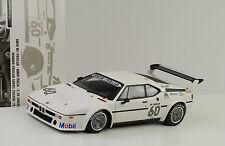 1979 BMW M1 Procar Italia Winner Zolder De Angelis #60 1:18 Minichamps