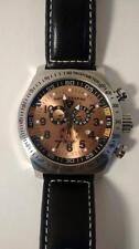 Men's Swiss Legend SL Pilot Chrono BROWN dial watch NO CASE