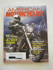 April 2004 American Motorcyclist Magazine, When All Goes Wrong  (BD-27)