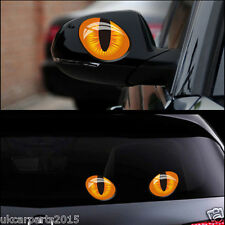 Cat Eyes Simulation 1 pair car stickers 3d vinyl decals decor creative BRAND NEW