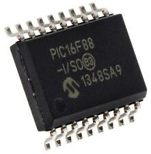 PIC16F88-I/SO 8 bits Microcontrolador Pic 20MHz 256B, 7168 B Flash, 368 B RAM Soic