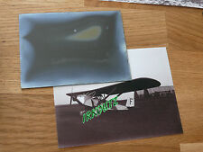 RARE NEGATIF PLAQUE DE VERRE  + PHOTO AVION WWI 14 18   GUERRE