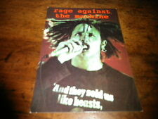 RAGE AGAINST THE MACHINE - Carte postale / Postcard !!! 152 !!!