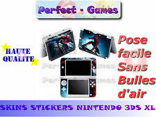 Skin sticker auto-collant vinyl  spiderman n°1 pour console nintendo 3DS XL LL