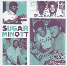 SUGAR MINOTT - reggae legends BOX 4 CD