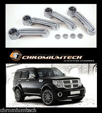 2007-2012 Dodge Nitro CHROME Door handle Cover CRD SXT new from Chromiumtech