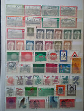 D175.  ALLEMAGNE. 2 PAGES TIMBRES OBLITERES