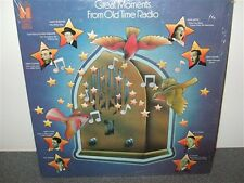 Great Moments From Old Time Radio . Will Rogers . Durante . W.C. Fields . LP