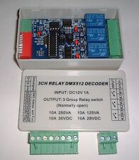 Boxed e DMX512 Controller relay PCB UK STOCK