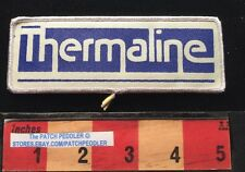 Vtg 1980s THERMALINE MANUFACTURER CO. Advertising Patch ~ AUBURN WA 625 xe