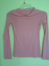 AMERICAN EAGLE OUTFITTERS Pink Long  Sleeve  Pullover T Shirt Top Size S/P