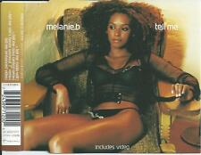 MELANIE B - Tell me CDM 3TR Enhanced 2000 EU PRINT SPICE GIRLS