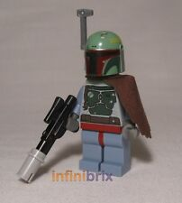 Lego Boba Fett from Set 8097 Slave I Star Wars Bounty Hunter BRAND NEW sw279