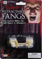 Special Fx Deluxe Dracula Disappearing Retractable Vampire Teeth Fangs Costume