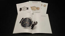 NEW NOMOS GLASHUTTE WATCH CATALOGUE 60+ PAGES